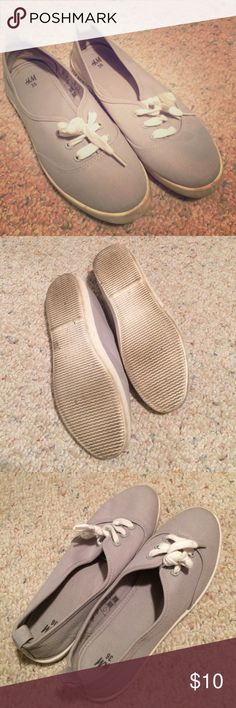 H&M Sneakers Sneakers. Worn a couple times. Inside shoe clean, not worn in. Bundle and I will go lower in price. All posts open to offers, trades, custom/bundled deals, M, Ven. H&M Shoes Sneakers