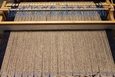 A weaver recently e-mailed me to ask why use a heddle rod in the Spa Set Pattern mat instead of two pick-up sticks? The quick answer is that in this particular pattern, if you placed two pick-up s… Pick Up Sticks, Weaving Process, Spinning, Animal Print Rug, Loom, Spa, Pattern, Weave, Inspiration