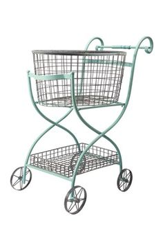 Toulouse Shopping Cart - laundry? random catchall? I just really like this ...
