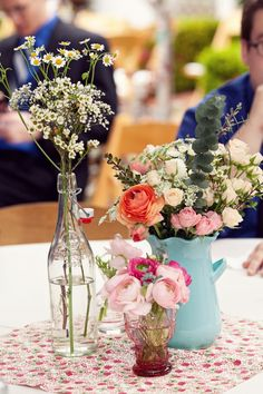 Country Chic Centerpieces
