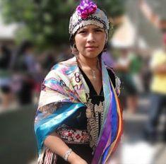 Joven Mapuche Jeune fille Mapuche