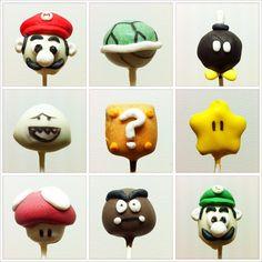 mario cake pops - Google Search