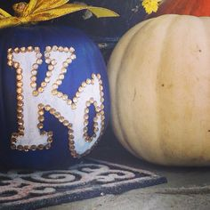 KC Royals Pumpkin!
