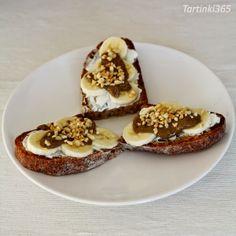 Tartinki365: Tartine 354. Rye Bread, Muffin, Banana, Cheese, Breakfast, Food, Morning Coffee, Eten, Bananas