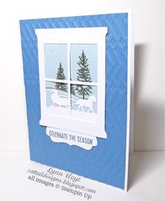 Cattail Designs: Stampin Up, Looking through the window