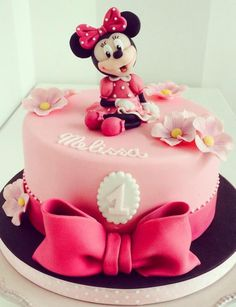 Minnie for your princess' first birthday! #firstbirthday #blast #celebration To see more: http://www.functionmania.com/blog/top-6-venues-organizing-kids-birthday-parties-delhi-ncr/