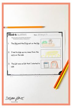 These phonics fluency passages are the perfect way for students to practice reading for fluency! After you've taught a phonics pattern, students can read, re-read, and illustrate to show understanding. These types of passages are great for small group practice to target skills students need extra help with. Try the FREE one over on the blog!  #firstgradephonics #secondgradephonics #phonics #phonicsactivities #Freebie