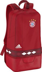 2ae5ce1c64 ADIDAS FC BAYERN MUNICH 2015 16 BACKPACK RED  AA0071 Get the new season  Bayern