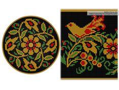 PATTERN: KHOKHLOMA Set of wayuu mochila patterns wayuu bag