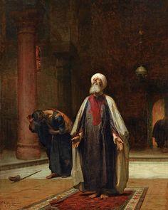Middle Eastern Art, Arabian Art, Islamic Paintings, Art Paintings, Historical Art, Chiaroscuro, Islamic Art, Modern Art, Art Drawings