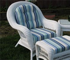 Wicker Paradise- Manchester Chair Cushions -