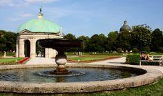 Munich, palace gardens.