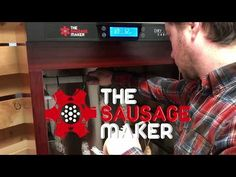 The Sausage Maker Dry Curing Cabinet for Home Charcuterie Making Pepperoni Sticks, Summer Sausage, Trucks Only, D 40, Fresh Meat, Water Lighting, Led Ceiling Lights, Sausage Recipes