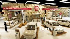 FIAT - FENATRAN 2015 Projeto: Designer Felipe Westphalen - Exhibition Stand