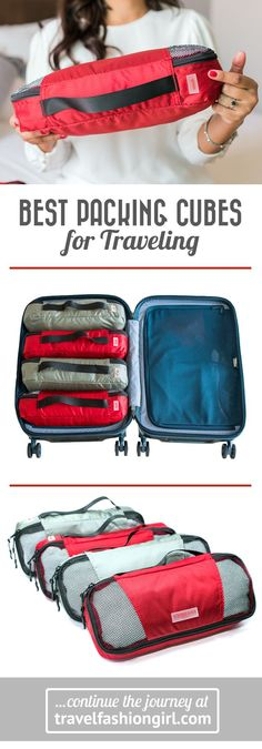 Discount Airfares Through The USA To Germany - Cost-effective Travel World Wide Learn Why These Are The Best Packing Cubes For Traveling Wherever You Go, With Their Unique Number and Color System. Snap To Learn More. Best Packing Cubes, Packing Tips For Travel, Travel Bags, Packing Hacks, Travel Ideas, Traveling Tips, Travel Stuff, Travel Advice, Travelling