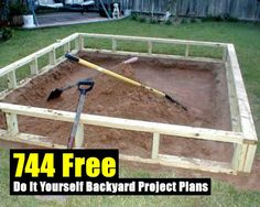 744 Free Do It Yourself Backyard Project Plans - SHTF Preparedness