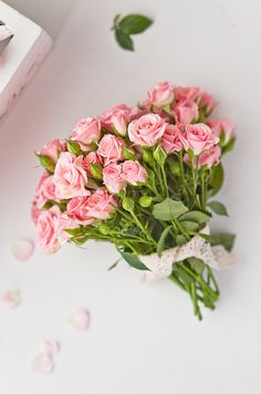 Roses #pink #bouquet