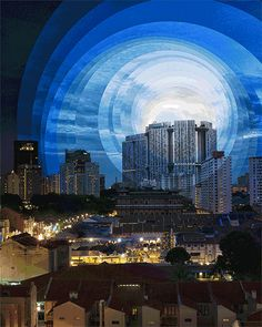 Time is a Dimension – Les 24 heures de la journée dans des #GIFsanimés hypnotisants…