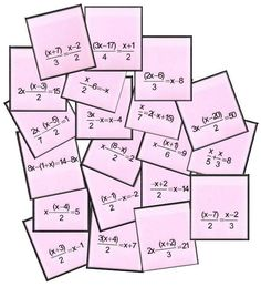 ecuaciones del bingo