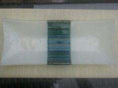 Rectangular dish using stringers