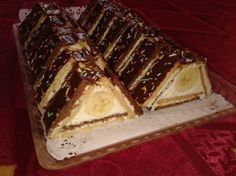 Fotorecept: Trojuholníky z Be-be keksov Butter, Tiramisu, Food To Make, Cheesecake, Biscuit, Cooking, Ethnic Recipes, Christmas, Yummy Cakes