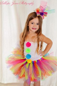 Halloween Clown Tutu Costume by CalliopeJaneBoutique on Etsy, $40.00