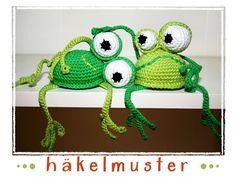 Frog - Shelf Sitter - Crochet Pattern  3.00 €