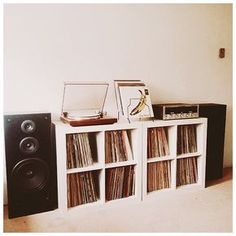 The 15 most photogenic record collections of 2015 - readers' special - The Vinyl Factory Vinyl Record Storage, Lp Storage, Vinyl Records Decor, Vinyl Record Display, Vinyl Record Player, Home Music Rooms, Home Studio Music, Vinyl Room, Lp Vinyl