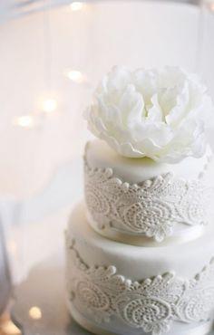40 Lace Wedding Cake Ideas