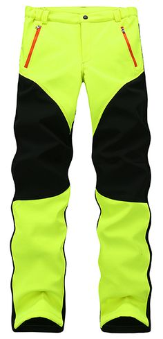US$38.63 + Free shipping. Size: S~XL. Color: Red & Black, Green, Orange, Black, Grey. Fall in love with casual and sports style! Men's Anti-UV Polar Fleece Ski Trousers Waterproof Windproof Fluorescent Mountaineering Hardwear Pants. #mens #pants