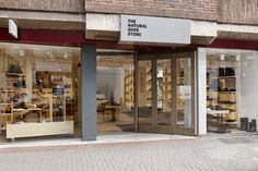 The Natural Shoe Store by Dreambox Studio London UK