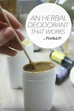 An Herbal Deodorant That Works… Finally! - Herbal Academy