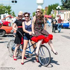 All roads lead to Maple Lake for Gear-Head Get Together. Models Kate and Rachel. Photography by: Andy Chow #gearheadgettogether #maplelake #minnesotagirls #pinupmodels #pinup #modeling #modelsofinstagram #photoshoot