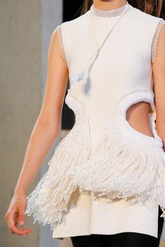 FRINGE OBSESSION. Céline Spring 2015 Ready-to-Wear