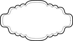 Free Printable Black and White Frame | Oh My First Communion!