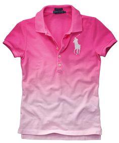 Poloshirt von RALPH LAUREN  #conleys #pink