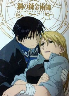 Roy Mustang and Riza Hawkeye - full-metal-alchemist Photo sorry i cant hear you over the booming of the CANON