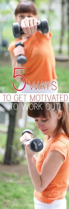 5 ways to get motivated to work out! by maude