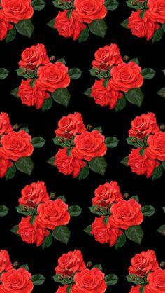 49 New Ideas Wallpaper Red Shelves Flower Background Wallpaper, Flower Phone Wallpaper, Wallpaper Iphone Disney, Cellphone Wallpaper, Flower Backgrounds, Wallpaper Backgrounds, Aesthetic Iphone Wallpaper, Aesthetic Wallpapers, Dope Wallpapers