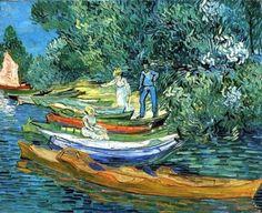 Vincent Van Gogh – Bords de l'Oise, La Grenouillère, 1890, The Detroit Institute of Arts, Detroit