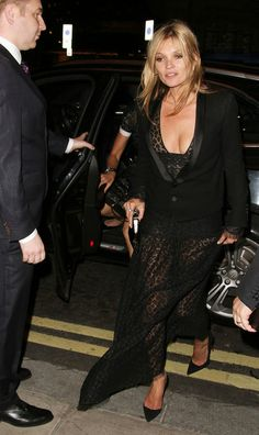 Kate Moss at 'The Dream for Future Africa' Dinner