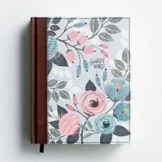 DaySpring offers Inspirational Gifts to Help Grow in Faith, Foster Connections with Others, and Celebrate Life. Painted Books, Hand Painted, Beautiful Word Bible, Illustration Blume, Custom Journals, Bible Covers, Bible Art, Bible Verses, Illustrated Faith