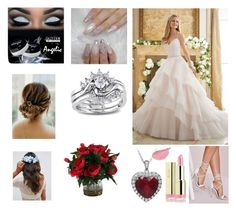 Is this your wedding? Milani, Missguided, Asos, Polyvore, Wedding, Valentines Day Weddings, Weddings, Mariage, Marriage