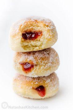 Homemade Doughnut Recipe, Baked Donut Recipes, Cake Recipes, Homemade Baked Donuts, Homemade Sweets, Old Fashioned Cake Donut Recipe Baked, Homemade Recipe, Duck Donuts Recipe, Paczki Recipe Easy