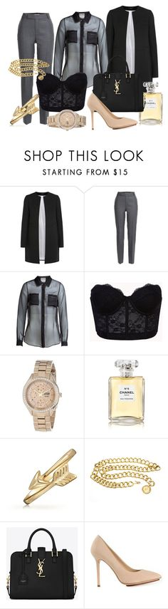 """18 y/o Junior Fashion Writer Interview"" by prxfinakvza ❤ liked on Polyvore featuring Joseph, Marc by Marc Jacobs, Moschino, Forever 21, Citizen, Chanel, Bling Jewelry, Yves Saint Laurent and Charlotte Olympia"