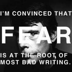 stephen king writing | stephen king writing quote fear