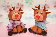 Reindeer - by CenterpieceBySteph @ CakesDecor.com - cake decorating website