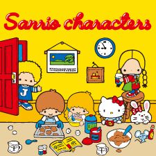 【2016.08.03】★SANRIO Characters 70's - 1970年代キャラクターシリーズ ★ #SanrioOriginal ★ #LittleTwinStars