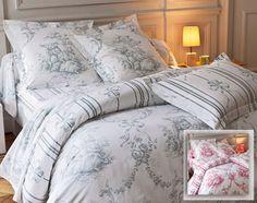 linge de lit façon toile de jouy - Becquet