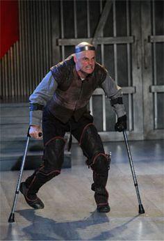 One of Vancouver's great actors, Bob Frazer, as Richard III. Amazing.